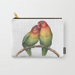 Fischer's Lovebird (Agapornis fischeri) Carry-All Pouch
