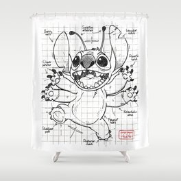 Experiment 626 Shower Curtain