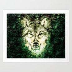 My Wolf Art Print