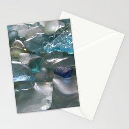Ocean Hue Sea Glass Assortment Stationery Cards