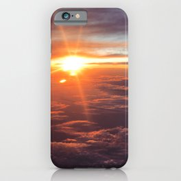 Sunset in the Sky iPhone Case