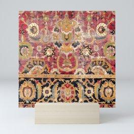 Esfahan Central Persian 17th Century Fragment Print Mini Art Print