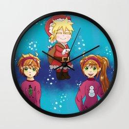 Vocaloid Christmas 2015 Wall Clock
