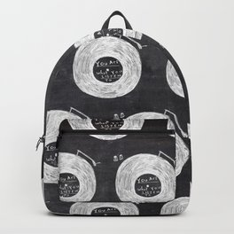 you are what you listen to, BLACK Backpack