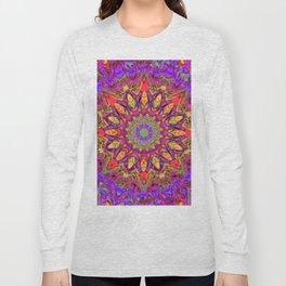 Abstract Flower AAA QQ YY Long Sleeve T-shirt