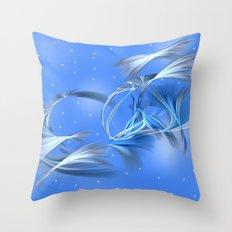 Snow Elves Throw Pillow