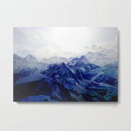 Blue Mountain 2 Metal Print