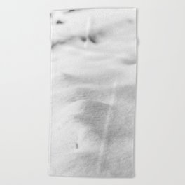 Snow Close up // Winter Landscape Powder Snowing Photography Ski Snowboarder Snowy Vibes Beach Towel