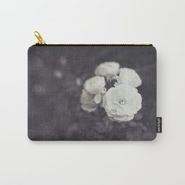 Retro Style Photography of Rose Flowers. Carry-All Pouch