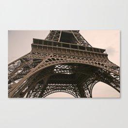 eiffel tower--closeup Canvas Print