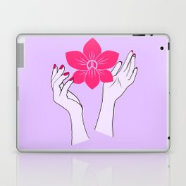 Holy orchid Laptop & iPad Skin