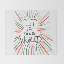 Quoteables #3 - Out of this World Throw Blanket