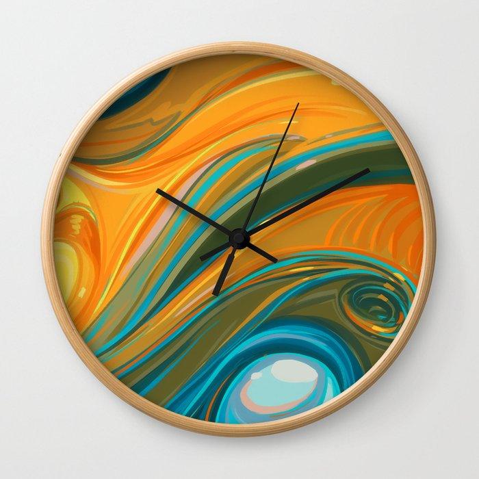 New Years Wall Clock