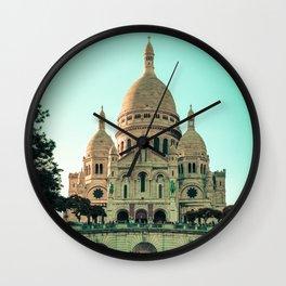 Sacre Coeur Wall Clock
