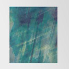 Submerge Aqua Throw Blanket