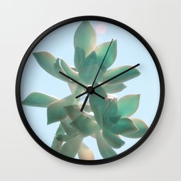 Fat Blue Wall Clock