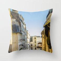 Montmartre series 3 Throw Pillow