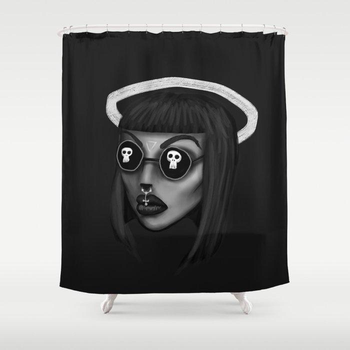 BOSS ASS WITCH Shower Curtain By Batsandblood