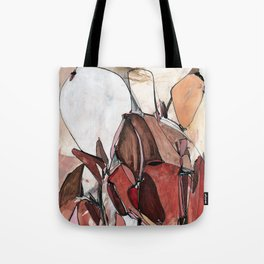 Red Harvest Tote Bag