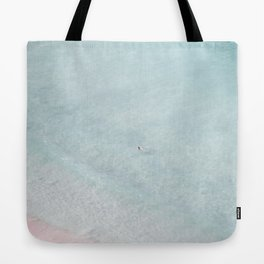 beach - the swimmer Tote Bag