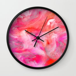 Endless Fall Wall Clock