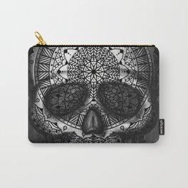 Caveira Mandala Carry-All Pouch