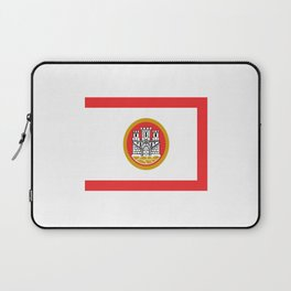Flag of bergen Laptop Sleeve