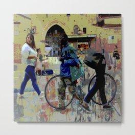 Bologna street Metal Print