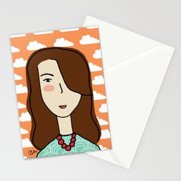 Marie the Swiss Miss Stationery Cards