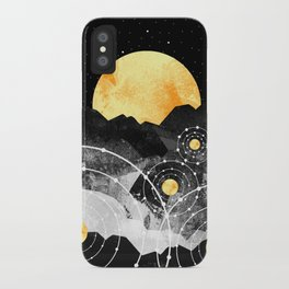 Stars of the galaxy iPhone Case