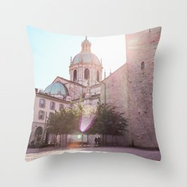 Como Cathedral Throw Pillow