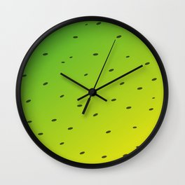 Tropical Kiwi Wall Clock