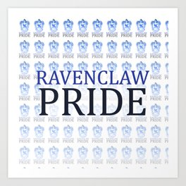 Ravenclaw Pride Art Print