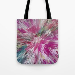 Abstract flower pattern 3 Tote Bag