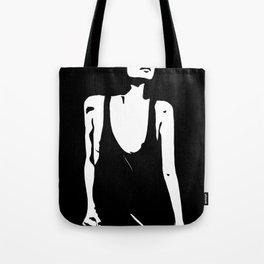 shining in the dark Tote Bag
