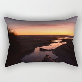 Reflecting on Life's Twists and Turns Rectangular Pillow