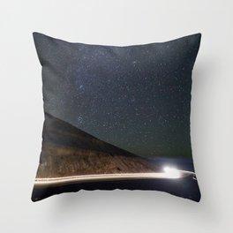 Night Traveler Throw Pillow