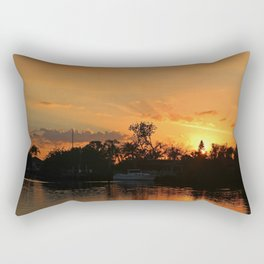 Flirting with Fire Rectangular Pillow