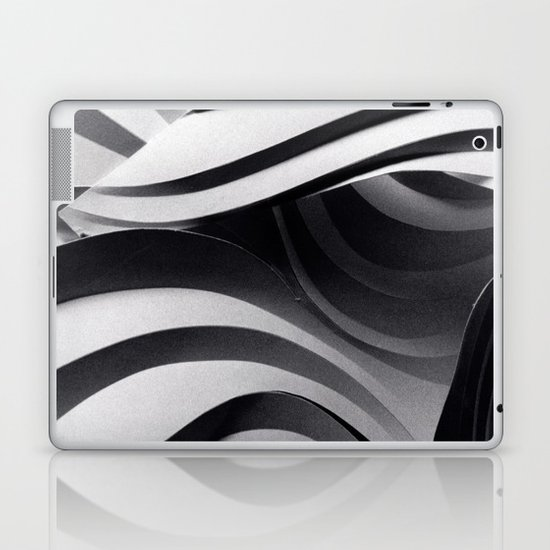 Paper Sculpture #5 Laptop & iPad Skin
