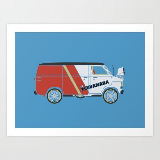 E.T.'s new Pimp Ride Art Print