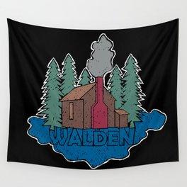Walden - Henry David Thoreau (Coloured textured version) #society6 #decor #buyart Wall Tapestry