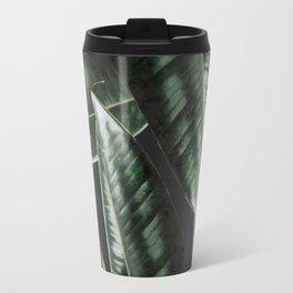 Rubber Plant Black Travel Mug