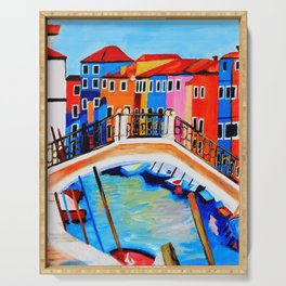 Colors of Venice Italy Serving Tray