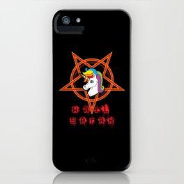 Hail Satan iPhone Case