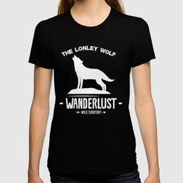 The Lonley Wolf Wanderlust  T-shirt
