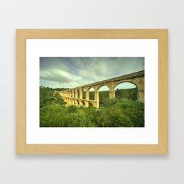Pont del Diable Framed Art Print