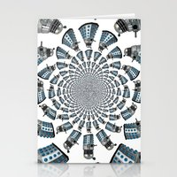 dalek Stationery Cards featuring Dalek by Natasha Lake