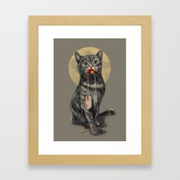 The Catch Framed Art Print