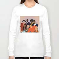fresh prince Long Sleeve T-shirts featuring The Fresh Prince by Jara Montez