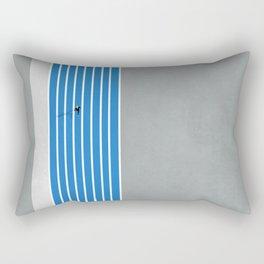 Finish Line Sprinter  Rectangular Pillow